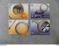Série 4 Timbres Neuf Slovenie 2005 : Cinquantenaire Du Timbre Europa - Europa-CEPT