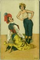 1900s POSTCARD - COUPLE / DANCERS - N. 551G (BG205) - Illustrateurs & Photographes