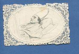 Image Religieuse Pieuse Canivet   Mrg Marie Dominique Auguste SIBOUR Fait D'après Nature 1857 Paris ARCHEVEQUE Dopter - Images Religieuses