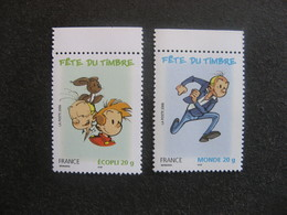 TB Paire N° 3878 Et N° 3879, Neufs XX. - France
