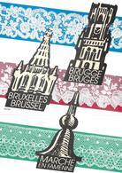 Pochette Thématique 2315/2317 - Dentelles De Belgique - Belgique