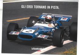 Pubblicità Formula 1 Gli Eroi Tornano In Pista Grand Prix La Febbre Della Velocità Promocard PC 6302 Condizioni Come Da - Reclame