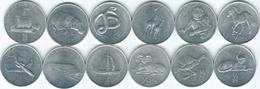 North Korea - 2002 - ½ Chon - Horse, Orangutan, Leopard, Giraffe, Fowl, Viper, Sheep, Hippo, Ship, Galley, Train & Jet - Korea, North