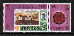 JERSEY  Scott # 308-9a** VF MINT NH PAIR (Stamp Scan # 483) - Jersey