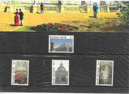 Pochette Thématique 2340/2343 - Les Serres Royales De Laken - De 1989 - Belgique