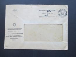 Schweiz 1948 Officiel Eidgenössisches Militärdepartement Abteilung Für Luftschutz. Stempel Bern 100 Jahre Bundesstaat - Briefe U. Dokumente