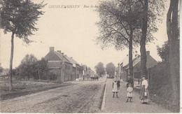 Ghislenghien - Rue De La Gare - Animé - Ath