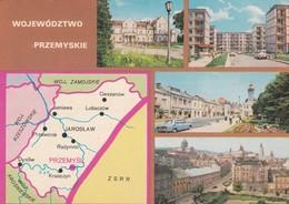 CARTOLINA - POSTCARD - POLONIA  - WOJEWO'DZTWO  -  VIAGGIATA PER ITALY ( ITALIA) - Polonia