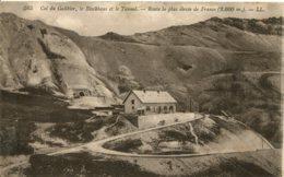 CPA - COL DU GALIBIER - LE BLOCKHAUS ET LA TUNNEL (IMPECCCABLE) - France