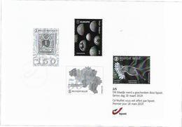Belg. 2019 - Feuillet Noir & Blanc N° 2/5 ** -  (prévente 18/3/2019) - Unused Stamps
