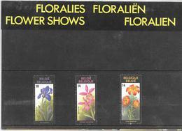 Pochette Thématique 2357/2359 - Floralies Gantoises VIII - De 1990 - Belgique