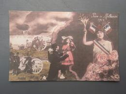 Cpa Prise De Mulhouse 1914 - Guerre 1914-18