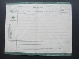 Österreich 1906 Telegramm Vordruck Ungebraucht 2 Heller Telegraphenverwaltung 1910er Jahre - Briefe U. Dokumente