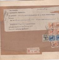 Document Philatélique Provenant De CHINE - HARBIN Vers PARIS Via Siberia - Timbres, Oblitération - 1912-1949 Republik