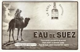 """PUB DENTIFRICE  """" EAU De SUEZ """" Par O'GALOP  1909 ( 3 ) - Publicité"""