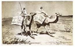 """PUB DENTIFRICE  """" EAU De SUEZ """" Par O'GALOP  1909 ( 4 ) - Publicité"""