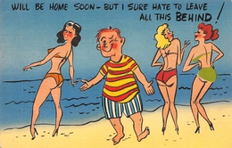 """HUMOUR // PIN-UPS // """" WILL BE HOME SOON - BUT I SURE HATE TO LEAVE ALL THIS BEHIND ! """" - Pin-Ups"""