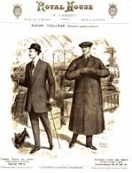 """PUB VETEMENTS   """" ROYAL HOUSE """"  1909 ( 7 ) - Vintage Clothes & Linen"""