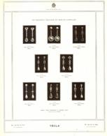 """PUB BIJOUX  Et BOUCLES D'OREILLES """" TECLA """"   1909 ( 5 ) - Autres"""