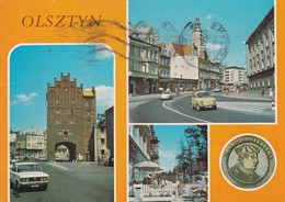 CARTOLINA - POSTCARD - POLONIA  - OLSZTYN - VIAGGIATA PER ITALY ( ITALIA) - Polonia
