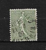 """FRANCE  1924/32 N° 198 """" Type Semeuse Lignée """"  Oblitéré - 1903-60 Sower - Ligned"""