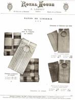 """PUB VETEMENTS - CHEMISES   """" ROYAL HOUSE """"  1909 ( 10 ) - Vintage Clothes & Linen"""