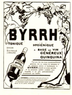 "PUB    "" BYRRH  ""  1909  ( 54 ) - Alcohols"