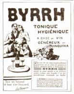 "PUB    "" BYRRH  ""  1909  ( 55 ) - Alcohols"