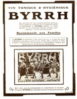 """PUB    """" BYRRH  """" ( CONCOURS Du BYRRH )  1909  ( 58 ) - Alcohols"""