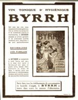 """PUB    """" BYRRH  """" ( CONCOURS Du BYRRH )  1909  ( 60 ) - Alcohols"""