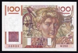 Billet 100F PAYSAN. 2-12-1948. Pr NEUF. Alph W.280. No 58634.Lettre W. - 1871-1952 Anciens Francs Circulés Au XXème