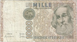 Italia - Italy 1,000 Lire 6-1-1982 Pk 109 A Firmas : Ciampi Y Stevani Ref 11 - [ 2] 1946-… : Républic