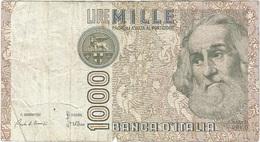 Italia - Italy 1,000 Lire 6-1-1982 Pk 109 A Firmas : Ciampi Y Stevani Ref 1581-10 - 1000 Liras