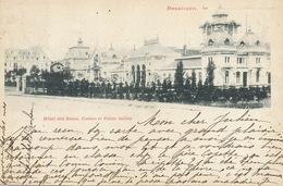 Pionnière Besançon Hotel Des Bains Casino Et Bains Salins Timbrée 1900 Type Sage - Besancon