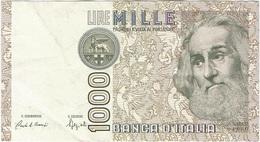 Italia - Italy 1,000 Lire 6-1-1982 Pk 109 A Firmas : Ciampi Y Stevani Ref 12 - [ 2] 1946-… : Républic