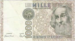 Italia - Italy 1,000 Lire 6-1-1982 Pk 109 A Firmas : Ciampi Y Stevani Ref 1581-11 - 1000 Liras