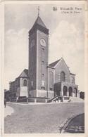WOLUWE-ST.PIERRE-L'EGLISE ST.PIERRE-EDIT.MAISON COENEN-CARTE ENVOYEE-1949-VOYEZ LES 2 SCANS-RARE ! ! ! - Woluwe-St-Pierre - St-Pieters-Woluwe