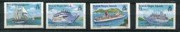 Iles Vieerges ** N°539 à 542   Bateaux - Britse Maagdeneilanden