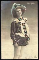 FEMME -  CP - Jeune Femme En Short - Circulé  - Circulated  - Gelaufen - 1906. - Femmes