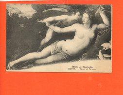 Nu - Femme - Tableau ALLORI - Vénus Et L'amour - Tableaux