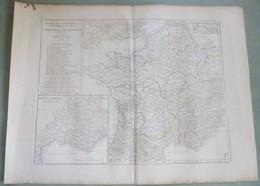 Carte Historique : GALLIA ANTIQUA Par D'ANVILLE - 1760. - Cartes