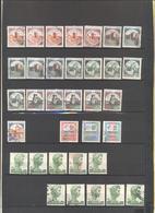 ITALIA - REPUBBLICA - Lotto - Accumulo - Vrac - 76 Francobolli - Serie Castelli + 500 Siracusana - Valori Misti E Ripetu - Briefmarken