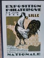 Entier 20c Semeuse - Exposition Philatélique Lille 1933 - Dessinée Par DRAIM - Neuve - En Superbe état - Entiers Postaux