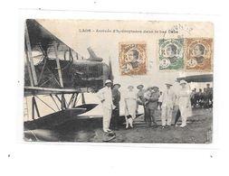 LAOS : Arrivée D'Hydroplane Dans Le Bas Laos, - Laos