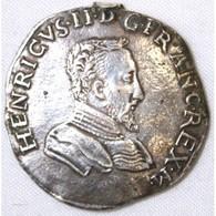 TESTON Henri II 1560 D Lyon Voir Description - 987-1789 Monnaies Royales
