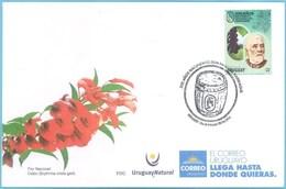 Uruguay 2019 SPD Bicentenario De Don Pascual Harriague. Viticultura. Vino. Viñedos. Francia En El Mundo. - Vinos Y Alcoholes