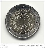 2 Euro, 2015, Europaflagge, Prägestätte (A), Vz, Guterhaltene Umlaufmünze - Deutschland