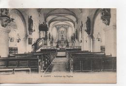 CPA.80.Cappy.Intérieur De L'Eglise - Sonstige Gemeinden