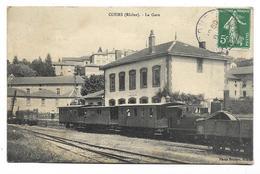 69 - COURS - La GARE Avec Train - TBE - France