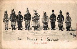 4862  -2019 SAUMUR   LA PARADE - Saumur